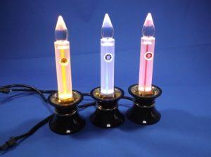 LED電気ローソク青芯・赤芯・ゴールド芯