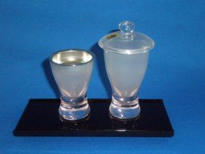 ガラス仏器セット